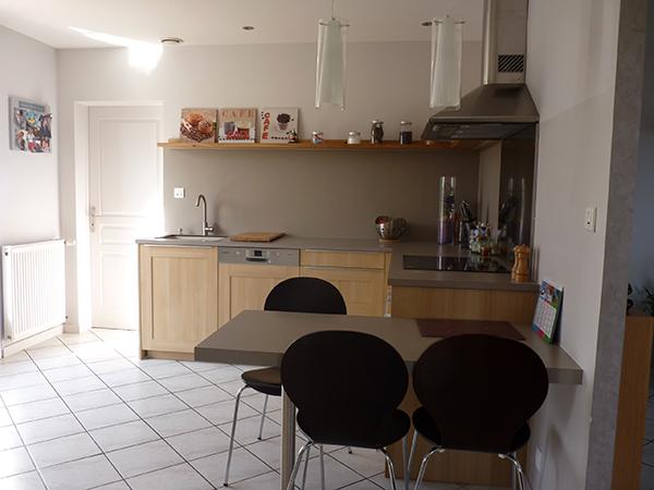 pi ce de vie ch ne clair coralie cr ation. Black Bedroom Furniture Sets. Home Design Ideas