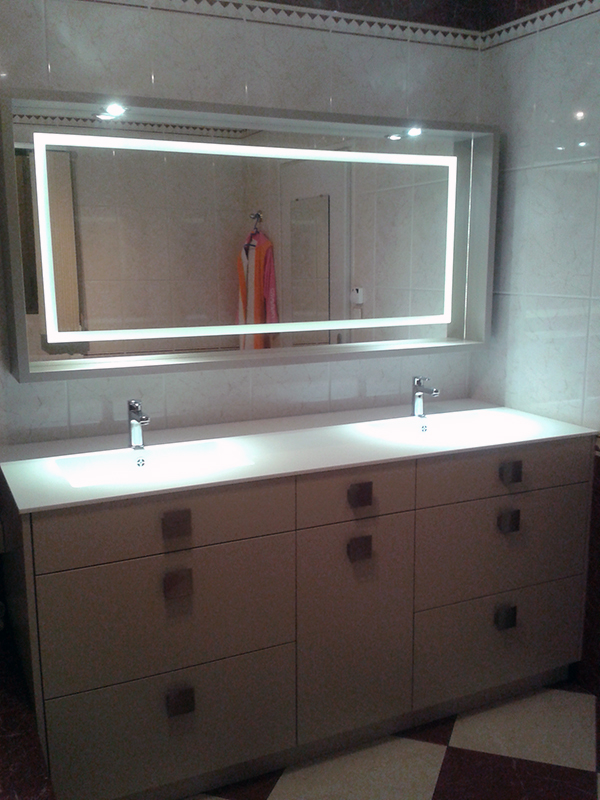 salle de bain meuble sur mesure coralie cr ation. Black Bedroom Furniture Sets. Home Design Ideas